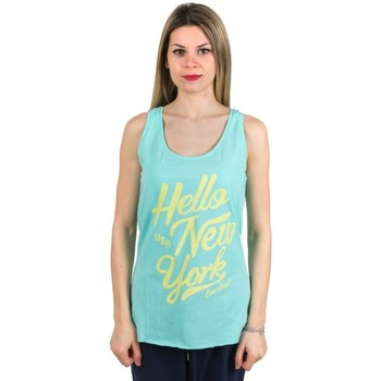 Abbigliamento Donna Top / T-shirt senza maniche Everlast Canotta donna Light Giallo