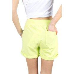 Abbigliamento Donna Shorts / Bermuda Everlast Shorts NY Donna Fiammato Giallo