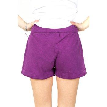 Abbigliamento Donna Shorts / Bermuda Everlast Shorts NY Donna Fiammato Viola