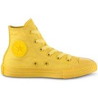 Scarpe Unisex bambino Sneakers alte All Star Scarpe Bambino Canvas HI Monocromatiche Giallo