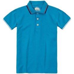 Abbigliamento Unisex bambino Polo maniche corte Colmar Polo Bambino Piquet Profilata Blu