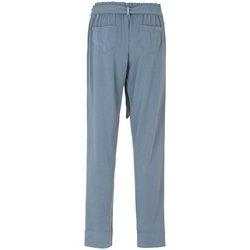 Abbigliamento Donna Pantaloni morbidi / Pantaloni alla zuava Deha Pantalone Donna Jersey Fusciacca Azzurro