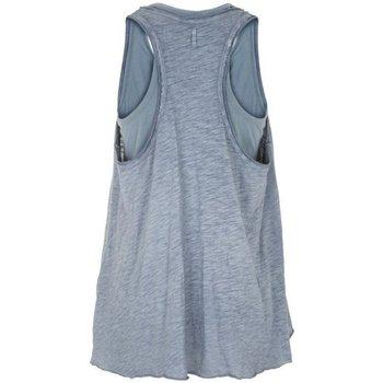Abbigliamento Donna Top / T-shirt senza maniche Deha Canotta Donna Maltinta Doppia Blu