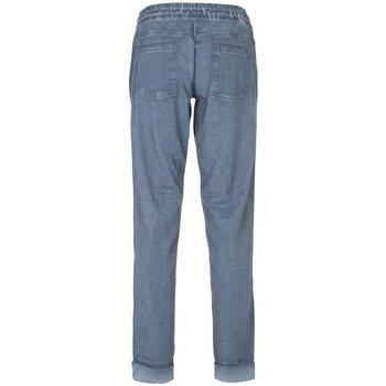 Abbigliamento Donna Pantaloni morbidi / Pantaloni alla zuava Deha Pantalone Donna Jersey Maltinto Blu