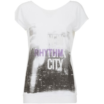 Abbigliamento Donna T-shirt maniche corte Deha T-shirt Donna Stampa City Bianco
