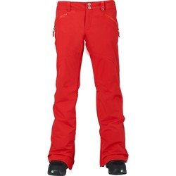 Abbigliamento Donna Chino Burton Pantalone Snowboard Donna Society Rosso