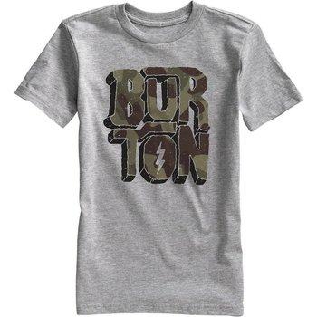 Abbigliamento Unisex bambino T-shirt maniche corte Burton T-Shirt Bambino Rock and Roll Grigio