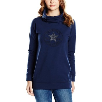 Abbigliamento Donna Felpe All Star Felpa Donna CT Lady Embro Gems Turtle Blu