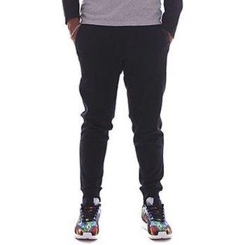 Abbigliamento Uomo Pantaloni da tuta All Star Pantalone Uomo Logo Classic Rib Embr Blu
