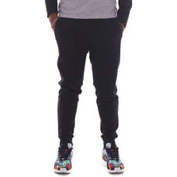 Abbigliamento Uomo Pantaloni da tuta All Star Pantalone Uomo Logo Classic Rib Embr Nero