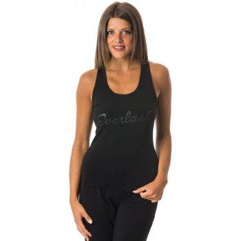 Abbigliamento Donna Top / T-shirt senza maniche Everlast Canotta Donna Basic Nero