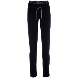 Abbigliamento Donna Pantaloni da tuta Freddy Panta Yoga donna Fit Coulisse Blu