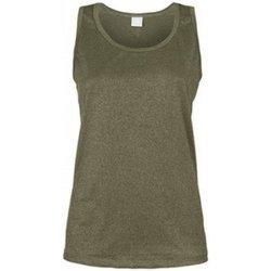 Abbigliamento Donna Top / T-shirt senza maniche Deha Canotta Donna Lurex Grigio