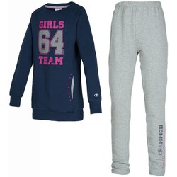 Abbigliamento Bambina Tuta Champion Tuta Bambina Sweat Suit Full Zip Blu