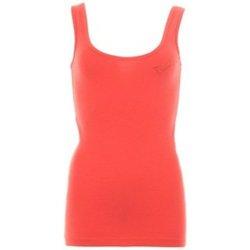 Abbigliamento Donna Top / T-shirt senza maniche Everlast Canotta  Donna Shana Rib One Rosso