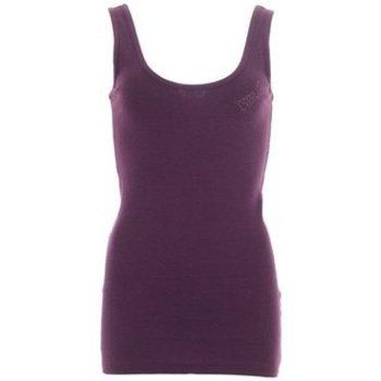 Abbigliamento Donna Top / T-shirt senza maniche Everlast Canotta  Donna Shana Rib One Viola