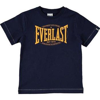 Abbigliamento Unisex bambino T-shirt maniche corte Everlast T-shirt bambino Authentic jersey Blu