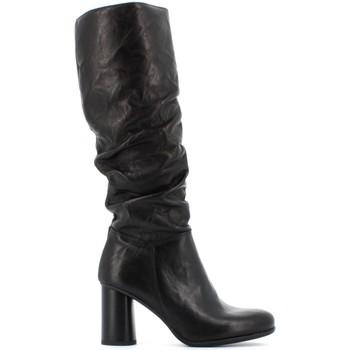 Scarpe Donna Stivali Creative scarpe donna stivaletti OTT 876 NERO Pelle