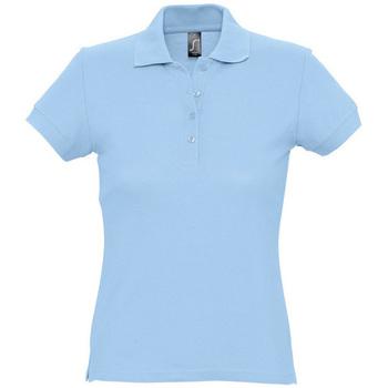 Abbigliamento Donna Polo maniche corte Sols PASSION WOMEN COLORS Azul