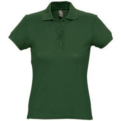 Abbigliamento Donna Polo maniche corte Sols PASSION WOMEN COLORS Verde