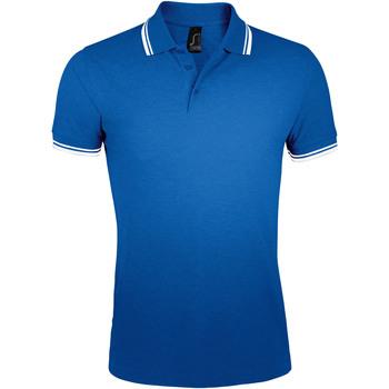 Abbigliamento Uomo Polo maniche corte Sols PASADENA MODERN MEN Azul