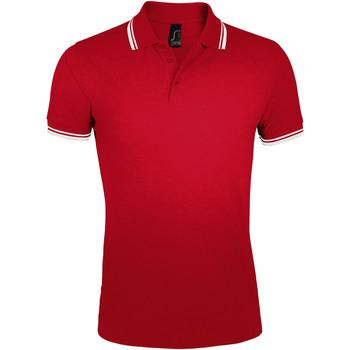 Abbigliamento Uomo Polo maniche corte Sols PASADENA MODERN MEN Rojo