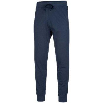 Abbigliamento Donna Pantaloni da tuta Get Fit Pantaloni Uomo Polsino Blu