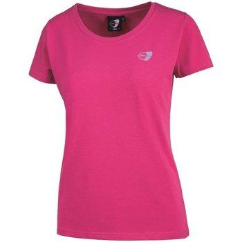 Abbigliamento Donna T-shirt maniche corte Get Fit T-Shirt Donna Scollo V Rosa