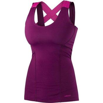 Abbigliamento Donna Top / T-shirt senza maniche Head Canotta Vision Tank Woman Viola
