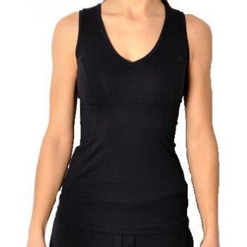Abbigliamento Donna Top / T-shirt senza maniche Deha Canotta donna Emana Nero
