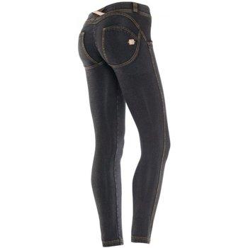 Abbigliamento Donna Leggings Freddy Pantaloni WR.UP lunghi Shaping Effect Low Waist Blu
