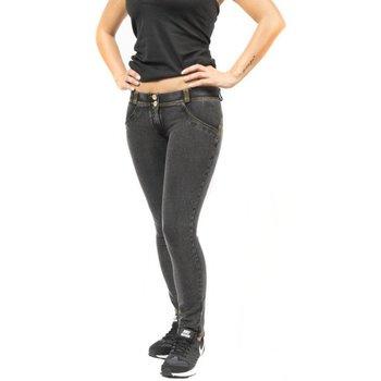 Abbigliamento Donna Leggings Freddy Pantaloni WR.UP 7/8 Shaping Effect Low Waist Grigio