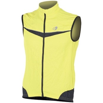 Abbigliamento Gilet / Cardigan Get Fit Gilet Running Giallo