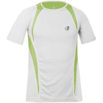 Abbigliamento Uomo T-shirt maniche corte Get Fit Maglia uomo a girocollo Bianco