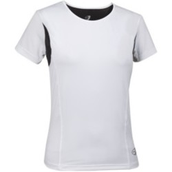 Abbigliamento Donna T-shirt maniche corte Get Fit T-shirt donna Sleeve Jersey Bianco