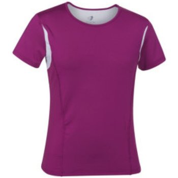 Abbigliamento Donna T-shirt maniche corte Get Fit T-shirt donna Sleeve Jersey Rosa