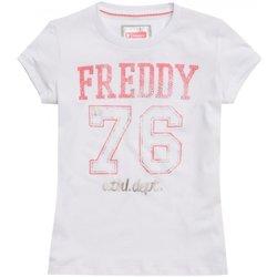 Abbigliamento Unisex bambino T-shirt maniche corte Freddy T-shirt bambina Bianco