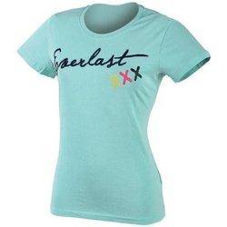 Abbigliamento Donna T-shirt maniche corte Everlast T-Shirt MM donna Azzurro