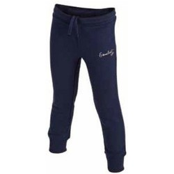 Abbigliamento Bambina Pantaloni da tuta Everlast Pantalone Garzato bambina Blu