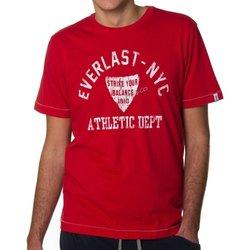 Abbigliamento Uomo T-shirt maniche corte Everlast T-shirt  Blow It Off Rosso