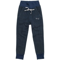 Abbigliamento Bambina Pantaloni da tuta Freddy Pantaloni cinque tasche Blu