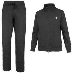 Abbigliamento Uomo Tuta Get Fit Tuta Uomo Full Zip Nero