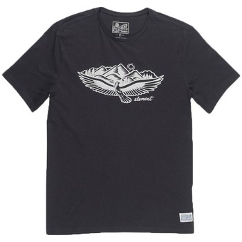 Abbigliamento Uomo T-shirt maniche corte Element T-shirt Uomo Soar Nero