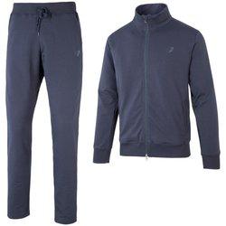 Abbigliamento Uomo Tuta Get Fit Tuta Uomo Full Zip Blu