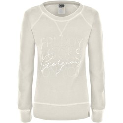 Abbigliamento Donna Felpe Freddy Felpa Donna Looks Gorgeous On You Bianco