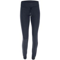 Abbigliamento Donna Pantaloni da tuta Freddy Leggings Donna Con Coulisse Blu