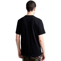 Abbigliamento Uomo T-shirt maniche corte Element T-Shirt Uomo Avenue Nero