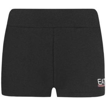 Abbigliamento Donna Shorts / Bermuda Emporio Armani EA7 Shorts Donna Train Shinny Nero