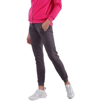Abbigliamento Donna Pantaloni da tuta Freddy Pantalone Donna Lungo Con Polsini Grigio
