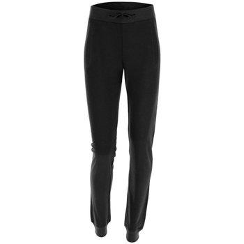 Abbigliamento Donna Pantaloni da tuta Freddy Pantalone Donna Lungo Con Polsini Nero